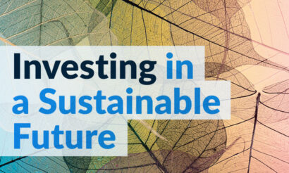 ESG Report 2020 - Investing in a Sustainable Future Headline